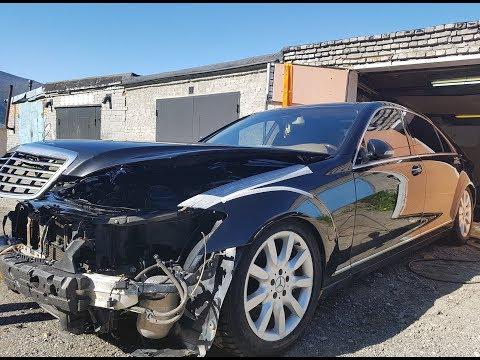 Что убивает двигатель Mercedes. W221 5.5 за 265.000 р. Эпизод 5.