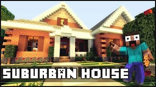 getlinkyoutube.com-Minecraft - Small Suburban House