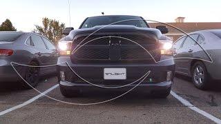 getlinkyoutube.com-DIY: 2015+ Dodge Ram Xenon HID Headlights - Custom HID Kit from ENLIGHT