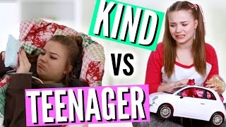 KIND VS TEENAGER - Abendroutine! | Julia Beautx