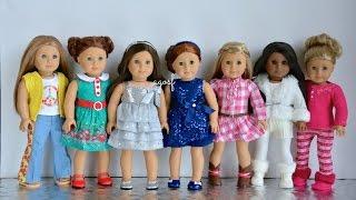 getlinkyoutube.com-American Girl Doll Holiday Outfits 2014! HD WATCH IN HD!