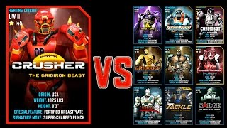 getlinkyoutube.com-Real Steel WRB CRUSHER Series of fights NEW ROBOT (Живая Сталь)