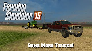 getlinkyoutube.com-Farming Simulator 2015: Mod Spotlight #62: Some More Trucks!!