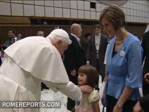 7-year-old gets her wish to meet the pope