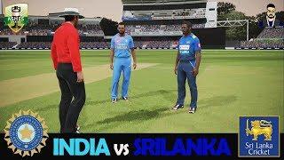 INDIA vs SRILANKA -  1st T20 (Hindi) | Ashes Cricket 2017 | Legend Mode |  Ps4 Gameplay