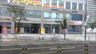 getlinkyoutube.com-세종시내버스 990번 BRT 급행 주행 [반석역→오송역] (좌측) [세종교통] (2015년 8월 2일 촬영)