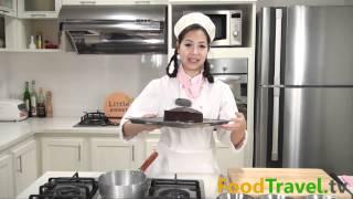 getlinkyoutube.com-เค้กช็อกโกแลตหน้านิ่ม (Chocolate Fudge Cake)
