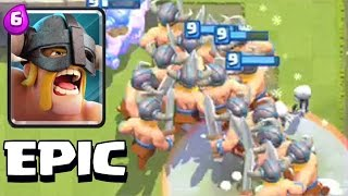 getlinkyoutube.com-Clash Royale - MASSIVE ELITE OVERLOAD!?! (swarm gameplay)