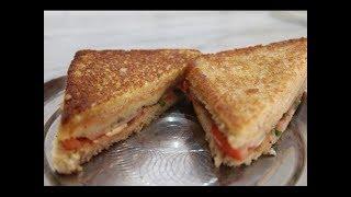 getlinkyoutube.com-Spicy Potato Sandwich | How to make Potato Sandwich at home | Indian Sandwich Recipe
