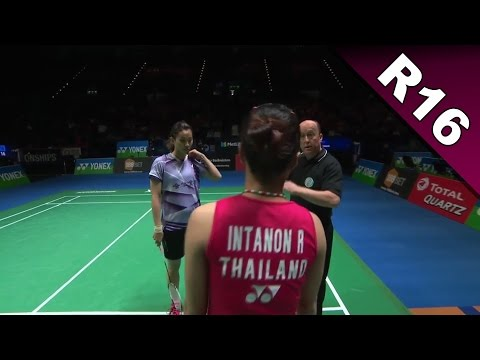 Yonex All England Open 2017 | Badminton R16 | Hsu Ya Ching vs Ratchanok Intanon [HD]