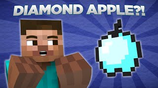 getlinkyoutube.com-If Diamond Apples Were In Minecraft