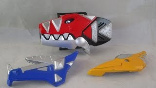 getlinkyoutube.com-Retro Review: Thundersaurus Morpher (Power Rangers Dino Thunder)