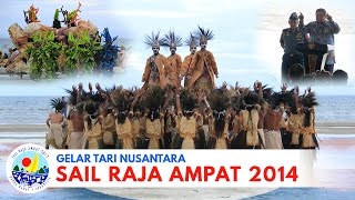getlinkyoutube.com-(Acara Puncak) Gelar Tari Nusantara, SAIL RAJA AMPAT 2014 by MAM EO
