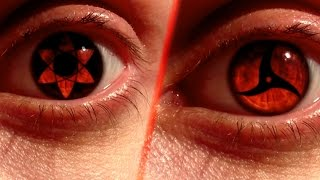 REAL LIFE Anime Eyes #4: Mangekyou Sharingan Edition