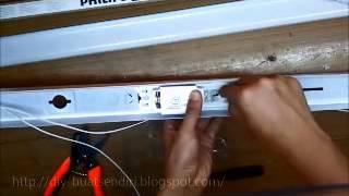 [Do It] DIY Cara Pemasangan Lampu Pendaflour / Kalimantang