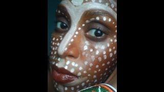 getlinkyoutube.com-International Year for People of African Descent Inspired Makeup