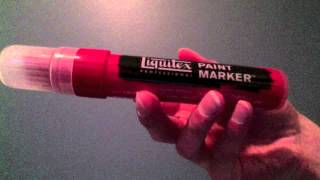 Liquitex Paint Marker Review and Surface Test
