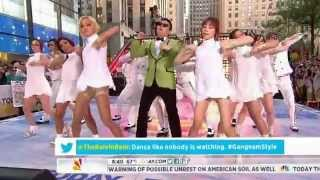 getlinkyoutube.com-PSY - GANGNAM STYLE NBC Today show! 09/14 싸이 미국방송 라이브