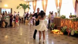 "getlinkyoutube.com-Dirty Dancing first wedding dance from the movie ""the time of my life"""