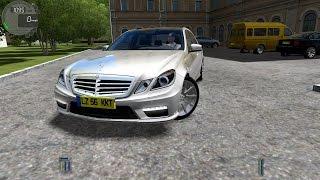 getlinkyoutube.com-City Car Driving 1.4.1 Mercedes E63 AMG W212 [Logitech G27]