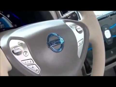 Ниссан Лиф Nissan Leaf обзор. Экомобиль уже сегодня