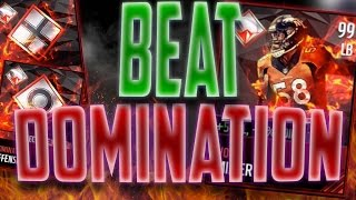 getlinkyoutube.com-How to Win The Domination Live Event in Madden Mobile 17! Best Strategy to Get Domination Von Miller