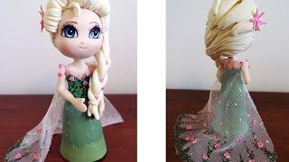 """getlinkyoutube.com-Biscuit: Elsa do """"Frozen - Febre Congelante"""""""