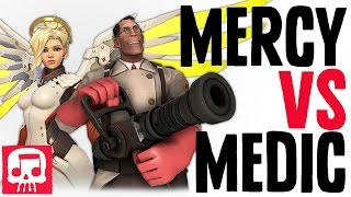 getlinkyoutube.com-MERCY VS MEDIC RAP BATTLE by JT Machinima