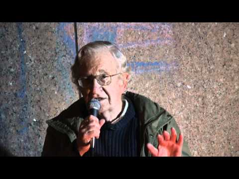 Noam Chomsky at Occupy Boston: Video 3 of 3