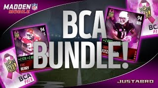 BCA BUNDLE OPENING! WOW! EPIC PULL! - Madden Mobile 16 Pack Opening