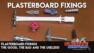 getlinkyoutube.com-Plasterboard fixings- The good, the bad and the useless!