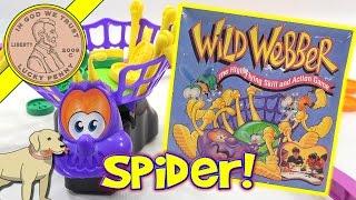 getlinkyoutube.com-Wild Webber High Flying Skill & Action Spider Game - Parker Brothers
