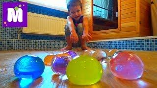 getlinkyoutube.com-Выращиваем в воде большие шары орбиз Growing in the water big balls orbeez