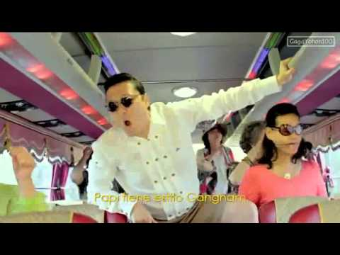 Gangnam Style Official Music Video - 2012 Psy With Oppan Lyr