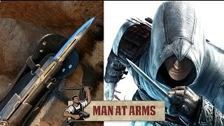 getlinkyoutube.com-Hidden Blade & Pirate Cutlass (Assassin's Creed 4) - MAN AT ARMS
