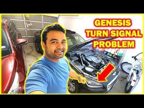 HOW TO Replace Turn Signal Bulbs on Hyundai Genesis