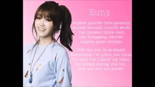 A Pink I Don't Know Lyrics | Romanization - Member Coded - English Translation