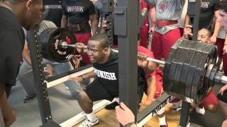 getlinkyoutube.com-The Hogs Are Getting It Done in the Weight Room