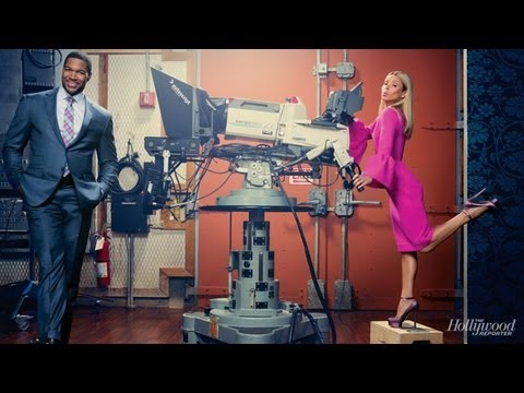 Kelly Ripa and Michael Strahan's Talk 'Chemistry' During the New York Power List Photo Shoot