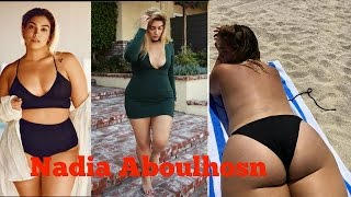 Nadia Aboulhosn Plus Size Model Photo Video  2016