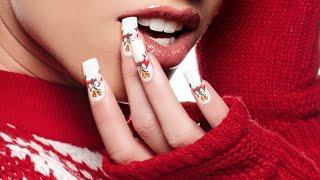 getlinkyoutube.com-Nail Art Tutorial: 'Happy Holidays'