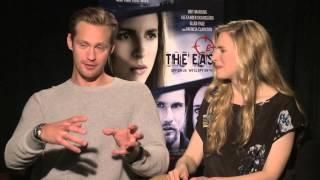 getlinkyoutube.com-Alexander Skarsgard and Brit Marling - The East Interview