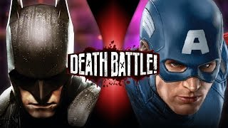 getlinkyoutube.com-Batman VS Captain America | DEATH BATTLE! | ScrewAttack