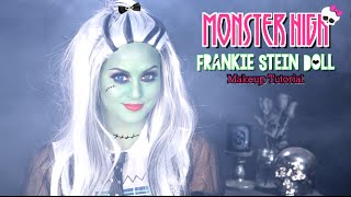 getlinkyoutube.com-Monster High Frankie Stein Makeup Tutorial l Christen Dominique