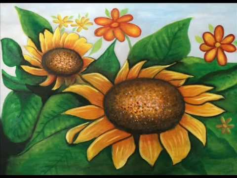 Curso de Pintura al Oleo - FLORES 1