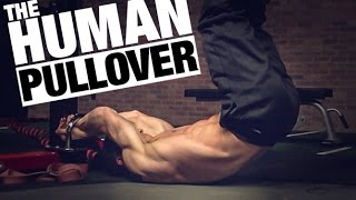 Bodyweight Lat Exercise (THE HUMAN PULLOVER!)