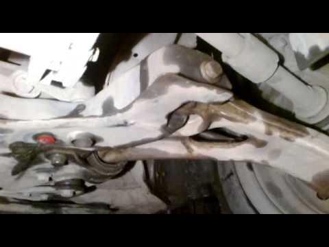 Где у Mazda Миления находится сальник рейки
