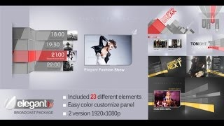getlinkyoutube.com-Elegant TV Broadcast Package - After Effects Template | VideoHive Templates | Mso7