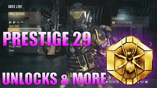 getlinkyoutube.com-COD AW: MASTER PRESTIGE 14 - Unlocks, Stats, and Gear + Advanced Supply Drop Opening!