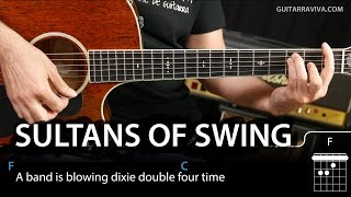 getlinkyoutube.com-How To Play Sultans of Swing on guitar tutorial (easy lesson chords)
